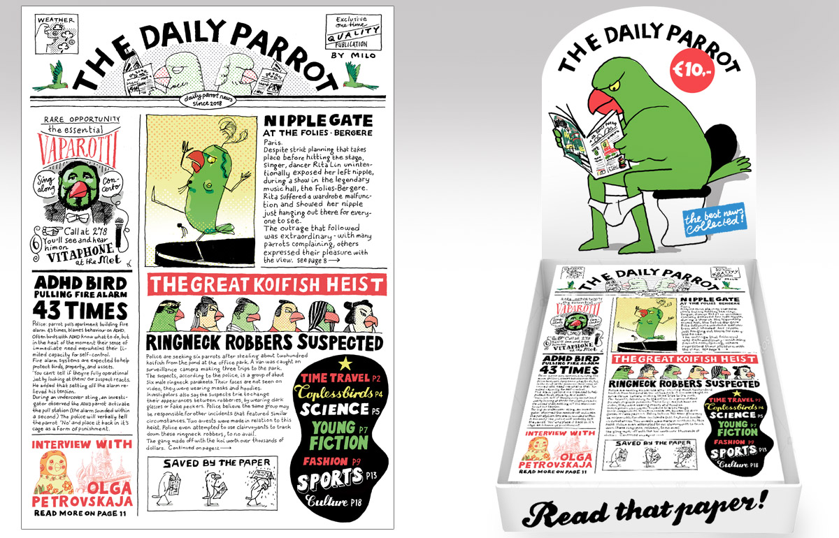The Daily Parrot Newspaper