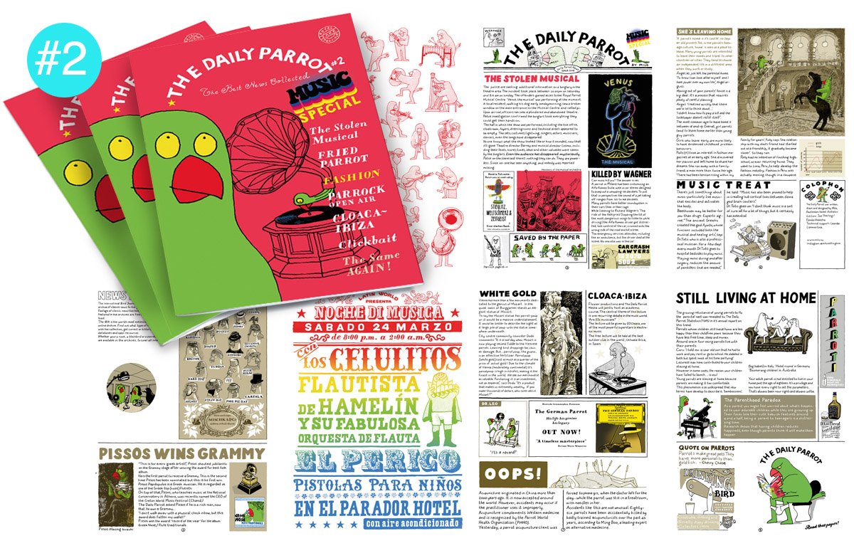 Self made publication_The Daily Parrot_2