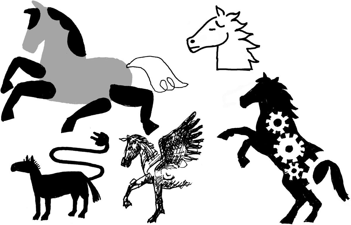 1horse4hire_2   logo design